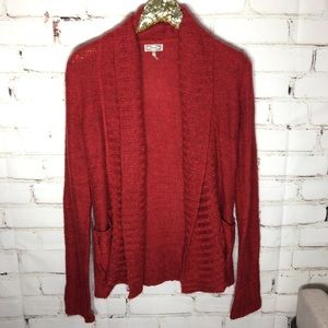 Kirra Pacsun red cardigan sweater. Size small.
